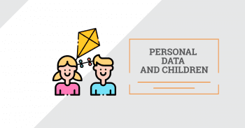 Personal data and children.