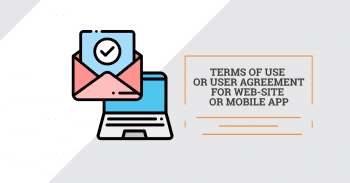 Terms of use or user agreement for web-site or mobile app