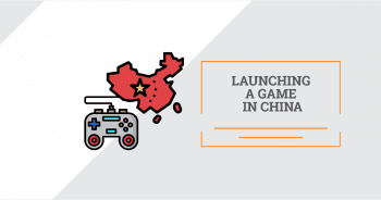 Launching a game in China